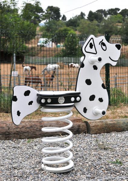 Balançoire dalmatien